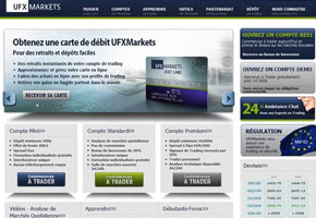 Capture du site ufxmarkets